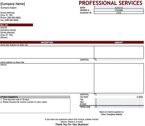 Service Invoice Template Service Invoice Template Word Invoice Design Inspiration