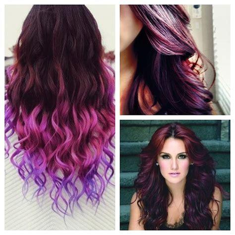 plum hair color plum hair plum hair colors and burgundy on