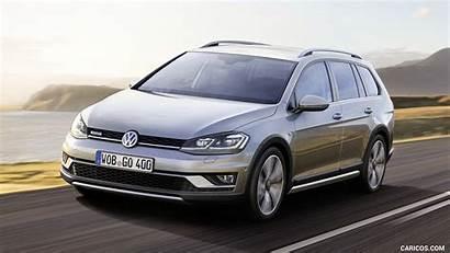 Golf Volkswagen Facelift Alltrack Vw Quarter Three