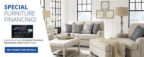 Smart features and free tools to help you get the most from your synchrony credit card. Furniture Financing Made Easy | American Furniture Credit Card | AFW.com