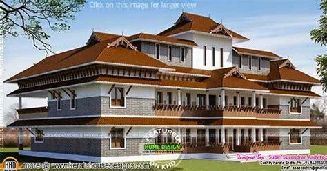 super luxury house plan  super rich kerala home design  floor plans