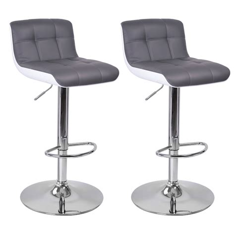 trottinette electrique avec siege tabouret de bar blanc gris lot de 2 majesty tabouret de