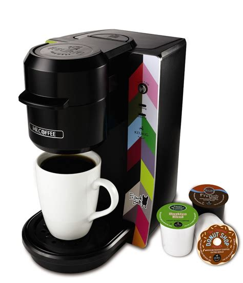 We used to have 1 large coffee pot on the counter and a keurig, now we just have one. Mr. Coffee Single Serve Coffee Maker As Low As $44.99 (Reg. $124.99)