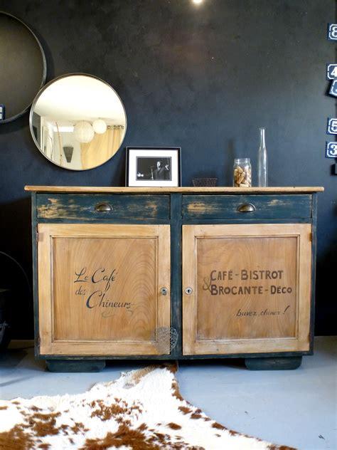transformer une table de cuisine decoration cuisine style bistrot