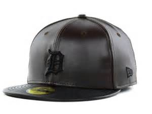 New Era Leather Fitted Hats