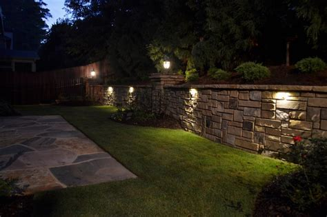 led retaining wall lights retaining wall lights outdoor new lighting ideas for