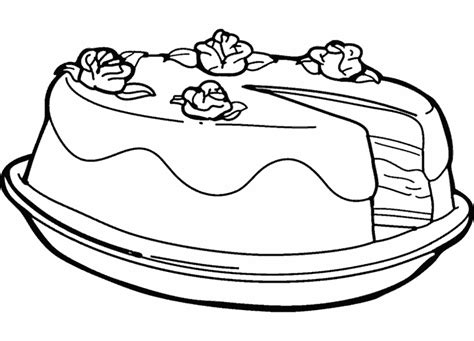 dessin d une cuisine gateau anniversaire dessin