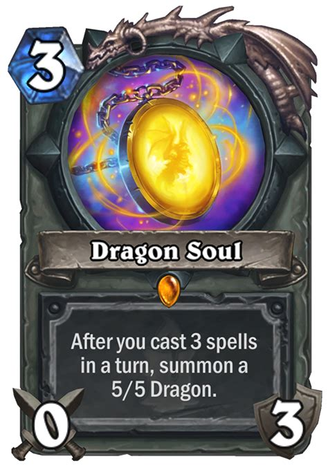 dragon soul hearthstone card hearthstone top decks