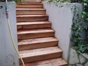 Avec Quoi Recouvrir Un Escalier En Carrelage : r alisation de terrasse et escalier en teck pose viss e recouvrir escalier avec with recouvrir ~ Melissatoandfro.com Idées de Décoration