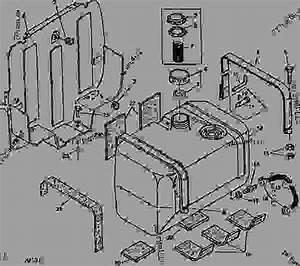 1050 Fuel Tank  10  - Tractor  Compact Utility John Deere 950 - Tractor  Compact Utility