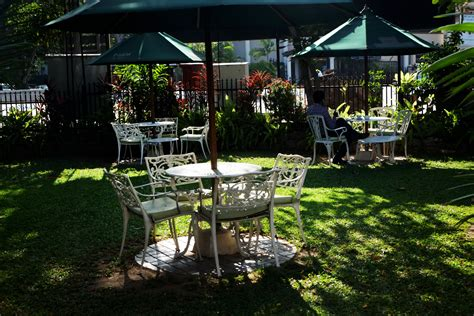 The garden café offers breakfast, coffee and delicious fresh fruit juice. Garden Cafe (T-sips) · YAMU