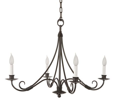 chandelier iron forged