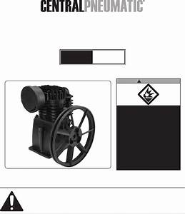Harbor Freight Tools Air Compressor 67697 User Guide