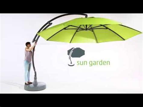 sun garden parasol ersatzbezug sun garden easy sun parasol set up cover