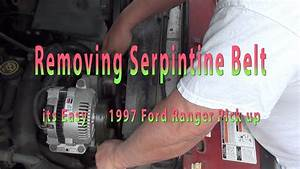Ford Ranger 23 Serpentine Belt Replacement