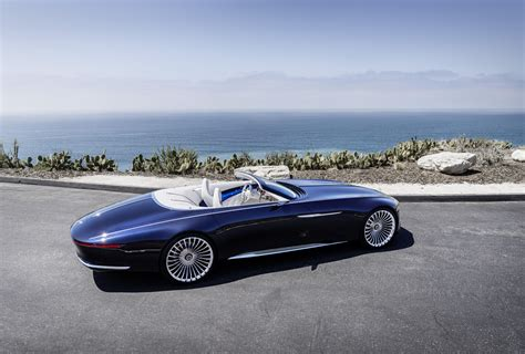 Vision Mercedes-maybach 6 Cabriolet Electrifies Pebble