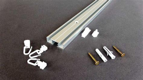 Vorhangschiene Einläufig Schmal by Flache Einl 228 Ufige Gardinenschiene Alugard Modell 880