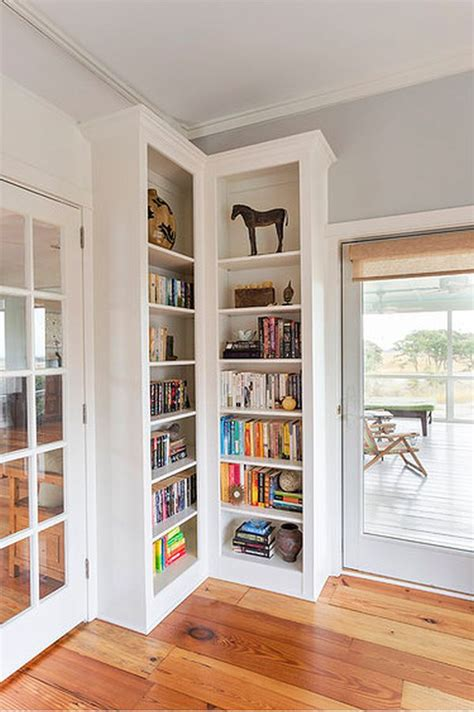 Corner Cabinet Bookcase by Clever Ways In Which A Corner Bookshelf Can Fill In The