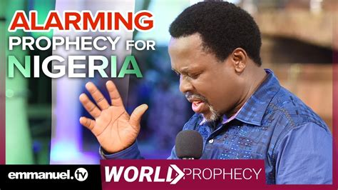 Alarming Prophecy For Nigeria!!!
