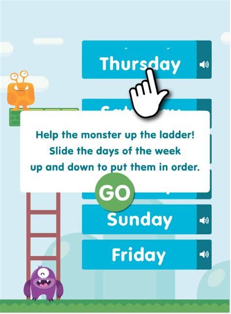 days   week worksheets  reception