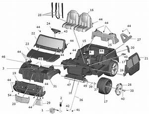 Power Wheels Barbie Cadillac Escalade Parts