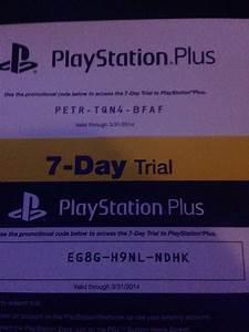 Playstation Plus Gratis Code Ohne Kreditkarte : two 7 day ps codes ps4 ~ Watch28wear.com Haus und Dekorationen