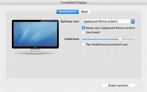 extern beeldscherm macbook pro dichtklappen