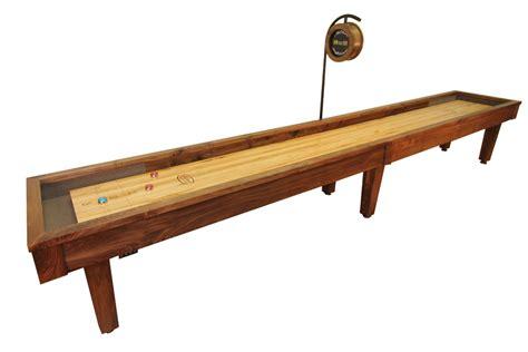 12 ft shuffleboard table 12 foot sloan walnut shuffleboard table mcclure tables