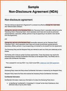 9 international non disclosure agreement template for International non disclosure agreement template
