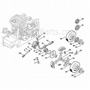 Stihl Ms 290 Chainsaw  Ms290  Parts Diagram  Oil Pump