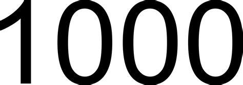 1000 — одна тысяча натуральное четное число регулярное