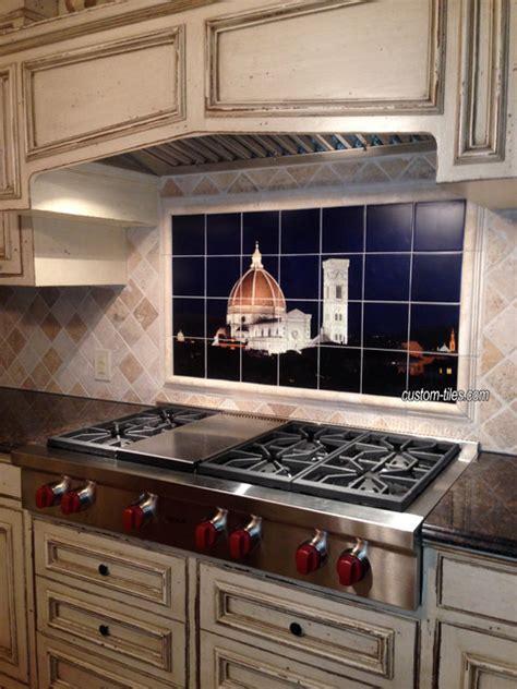 Kitchen Backsplash Tile  Mediterranean  Kitchen  Other