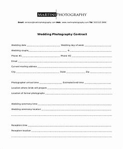 sample photography contract form 10 free documents in With sample wedding photography contract