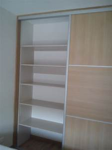 Fabriquer Porte Coulissante Placard : fabriquer un placard mural en bois maison design ~ Premium-room.com Idées de Décoration