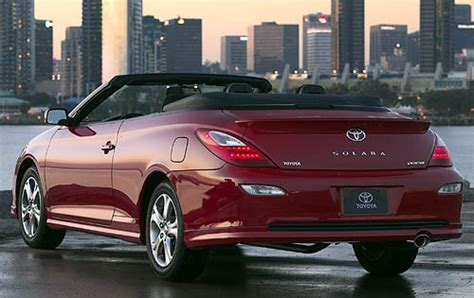 convertible toyota 2008 toyota camry solara information and photos