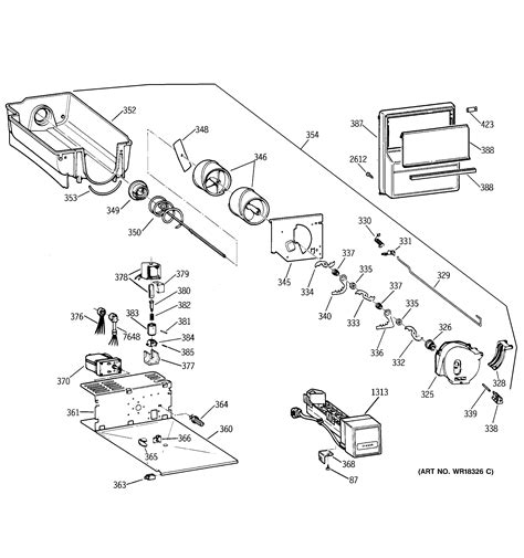 ge ziswdxa side  side refrigerator parts sears partsdirect