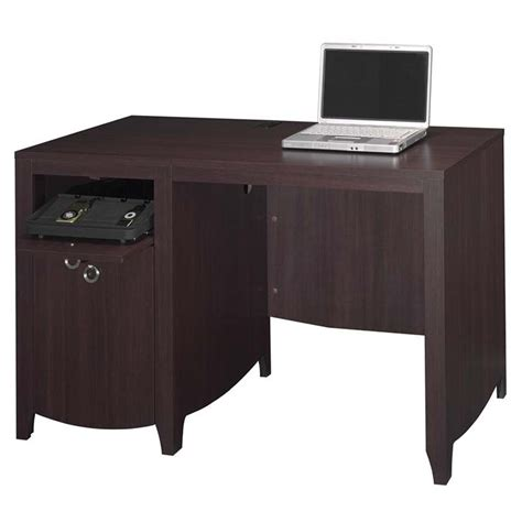 desk l with charging station object moved
