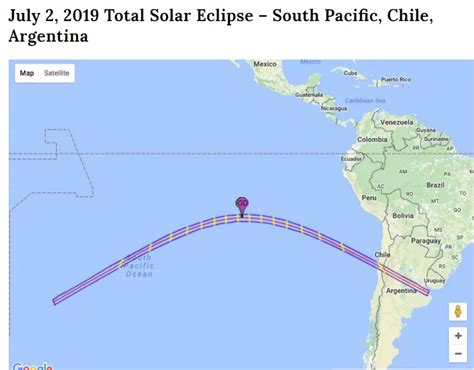 Solar Eclipse Is On 2nd July 2019