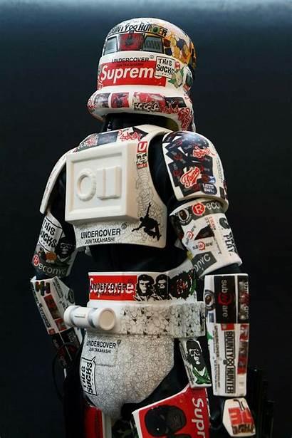 Wars Star Supreme Dope Stormtrooper Hypebeast Sticker