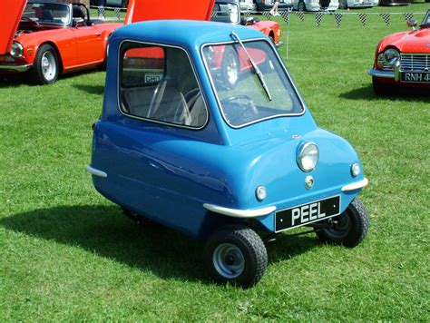 Peel P50 The Is A Three Wheeled Microcar Produced From ...