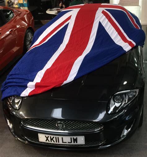 british flag union jack indoor car covers