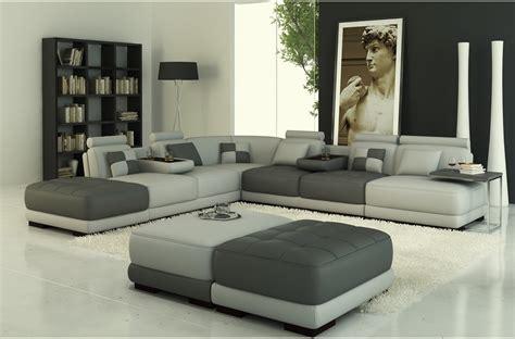 canapé convertible luxe et confort salon moderne cuir
