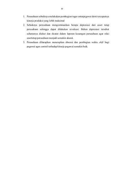 Laporan sistem informasi akuntansi pada civitas corporation