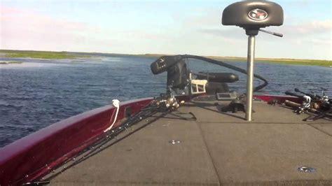 Boat Crash Lake Okeechobee by 250hp Bass Boat On Lake Okeechobee Youtube