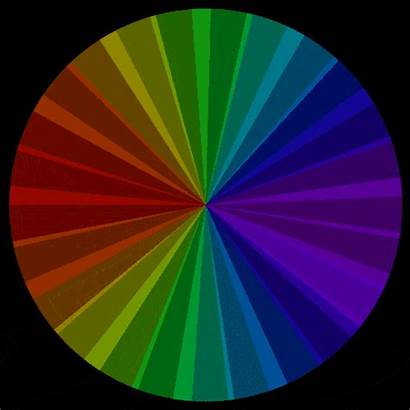 Colors Rainbow Colorful Gifs Spectrum Pinwheel Animated