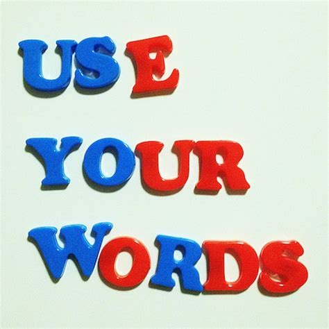 your word is a l you have a voice use your words mixed gems