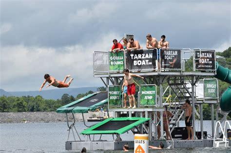 Tarzan Boat Rockaway Beach by Splish Splash A Water Park Opens In Rockaway The