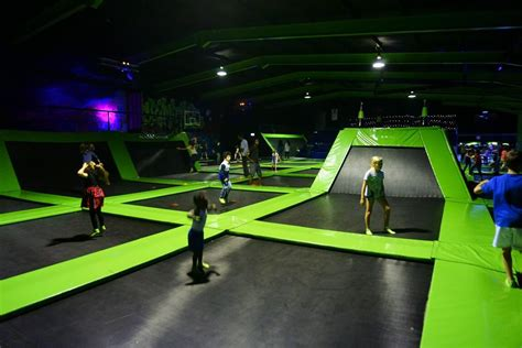 Bouncing around on London Flip Out Trampolines - What You ...