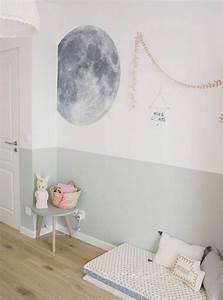 Peinture Murale Blanche : 1001 id es pour am nager une chambre montessori ~ Nature-et-papiers.com Idées de Décoration