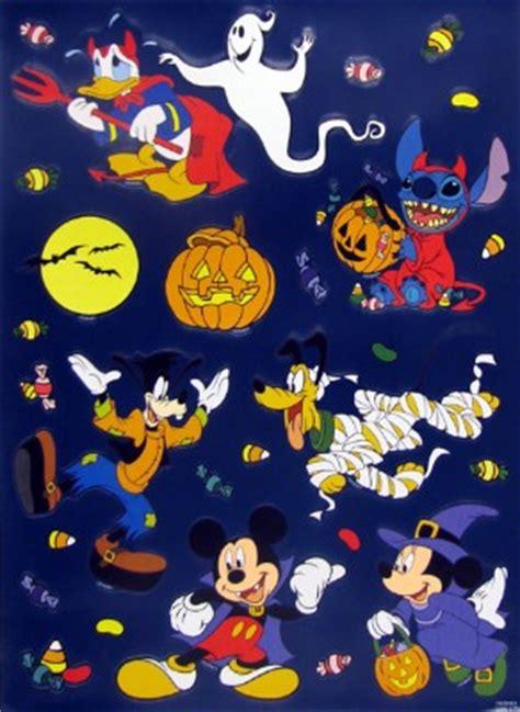 disney window clings set halloween   scary spooky
